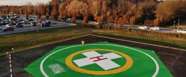 Segnaletica per pista atterraggio elicottero