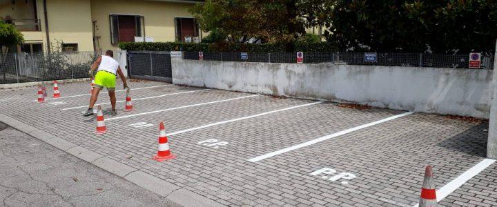 Segnaletica parcheggi condominio
